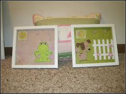 Diy Baby Room Decor Mommy Mia Monologues Do It Yourself Nursery Decorating Art Idea