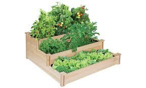 greenes rc4t3 3 tier cedar raised garden bed youtube
