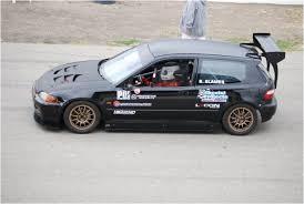 honda hatchback 1993 1993 honda civic hatchback attack race car