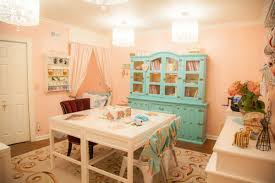 Shabby Chic Craft Room by Craftaholics Anonymous Craft Room Tour With Lather And Lotions
