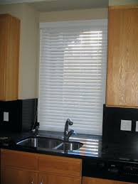 window blinds blinds for kitchen window over sink wood custom