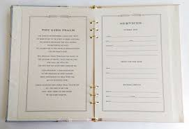 guest books for memorial service funeral sign in book willow memorial guest book funeral register