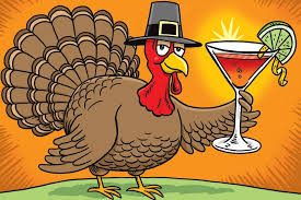 what bartenders drink on thanksgiving before during and after