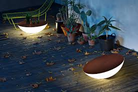 Round Solar Lights by Solar Outdoor Lights Unique Ideas For Creative Landscaping Ward