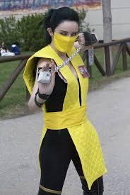Mortal Kombat Scorpion Halloween Costume Mortal Kombat Scorpion Homiebear Deviantart