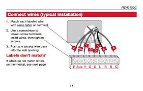 honeywell wire diagram diagram wiring diagrams for diy car repairs