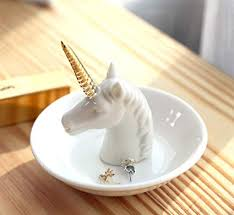 porcelain unicorn ring holder images Pudding cabin unicorn jewelry ring holder dish jpg