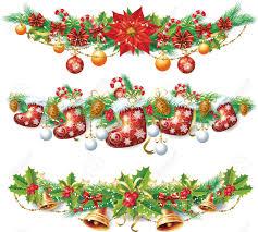 christmas garland royalty free cliparts vectors and stock