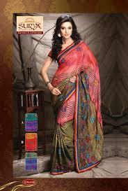 Shinner 111 Best Surya Sarees U0026 Lehenga Images On Pinterest Saree