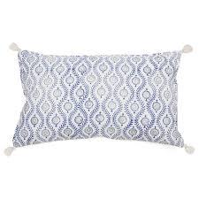 pom pom at home dali hand blocked decorative pillow