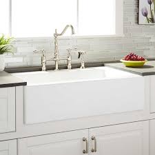 kitchen sink and faucet 33 almeria cast iron farmhouse kitchen sink kitchen