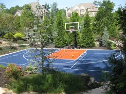 Best Backyard Basketball Court by Outstanding Outdoor Basketball Court Interior Designs With Indoor