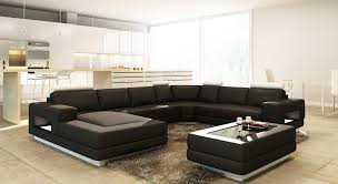 Modern Sectional Leather Sofas Casa Pella Modern Bonded Leather Sectional Sofa