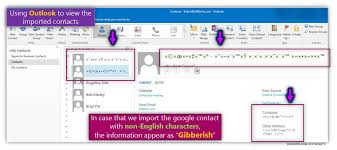 csv format outlook import import google s contacts with non english characters to office 365