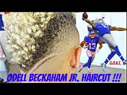 odell beckham jr haircut barber tutorial odell beckham jr haircut hd youtube