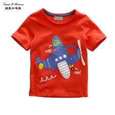 teemo u0026 mimmo 1 6y plane baby boy top cartoon short sleeve kids t