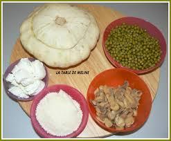 cuisiner un patisson patisson farci vegetarien la table de meline
