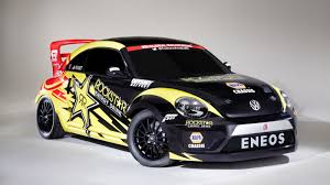 punch buggy car holy crap tanner foust will rallycross this 560 hp volkswagen beetle