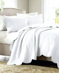 King Size White Coverlet Quicklook Quilt Bedspread King Coverlet Bedding King Quilted