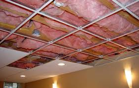 Basement Ceiling Insulation Sound by Acoustic Insulation With Suspended Ceilings Arman Insulation Company