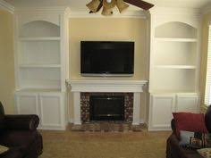 Fireplaces With Bookshelves by Bookcases Around Fireplace Family Room Bookshelves Around