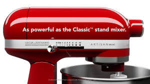Kitchenaid Classic Stand Mixer by The Kitchenaid Artisan Mini Stand Mixer Small Yet Mighty On Vimeo