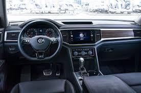 volkswagen tiguan 2018 interior 2018 volkswagen atlas gets r line exterior package motor trend