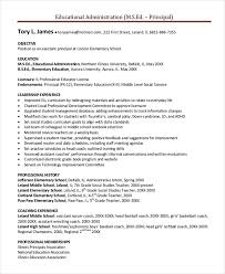 Soccer Coach Resume Sample by Principal Resume Template 5 Free Word Pdf Document Downloads