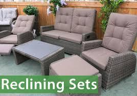 garden furniture set reclining chairs roselawnlutheran