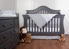 Zig Zag Crib Bedding Set 7 Crib Nursery Bedding Set With Bumper By