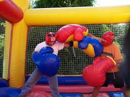 bouncy boxing competition and entertainment ideas