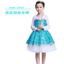 elsa halloween costume girls online get cheap cinderella elsa dresses party princess costume