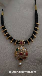 186 best black mangalsutra nallapoosalu images on