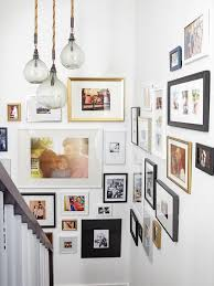 Picture Frame Hanging Ideas Best 25 Picture Wall Staircase Ideas On Pinterest Stair Wall
