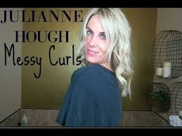how does julienne hough style her hair julianne hough messy curls how i style my hair youtube