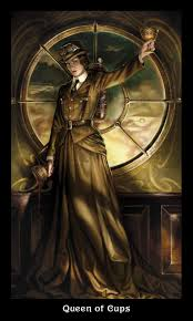 the steampunk tarot barbara moore aly fell 8601300410517