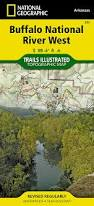 Buffalo Map Buffalo National River West National Geographic Trails