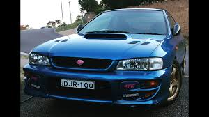 subaru gc8 coupe gc8 wrx sti review 2 door beast australian delivered model 1999