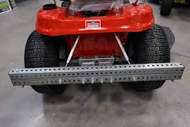 troy bilt riding lawn mower new rear attachment device