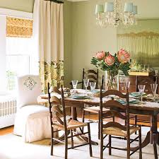 Green Dining Rooms by Stylish Dining Room Decorating Ideas Southern Living