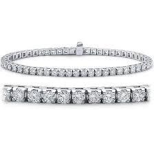 white diamond tennis bracelet images 18ct white gold 8 50ct round diamond tennis bracelet bracelets jpg