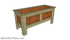 wood planter box plans myoutdoorplans free woodworking plans