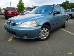 Honda Civic 2000 Specs 2000 Electron Blue Pearl Honda Civic Lx Sedan 70266160 Gtcarlot
