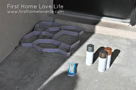 Painting A Cement Patio by Reeeeeemix Front Door Edition First Home Love Life