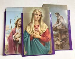catholic cards etsy