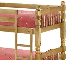 Julian Bowen Chunky Pine Bunk Bed Chunky Pine - Solid pine bunk bed