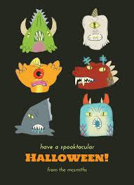 6 fun halloween card themed designs