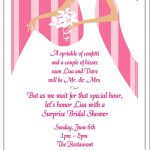 delight decorum gift card wedding shower invitation wording bridal