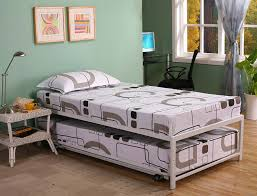 Trundle Bed Frame And Mattress Trundle Bed With Pop Up Frame Adorable Xl Mattress Storage