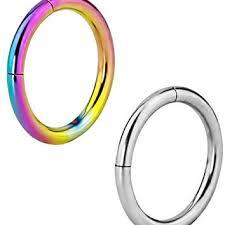 surgical steel hoop earrings shop rainbow hoop earrings on wanelo